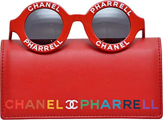 578934d14b8 Chanel X Pharrell Capsule Collection Red Rouge Sunglasses New