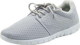 Urban Jacks Men LR Bexley Shoes Grey UK 12