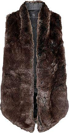 Tart Collections Tart Collections Woman Kya Faux Fur Vest Chocolate Size M