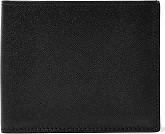 Common Projects Cross-grain Leather Billfold Wallet - Black