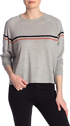 360 Cashmere Emm Colorblock Stripe Long Sleeve Tee