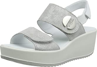 Igi & Co Womens DCD 31733 Platform Sandals, Grey (Perla 3173377), 4 UK