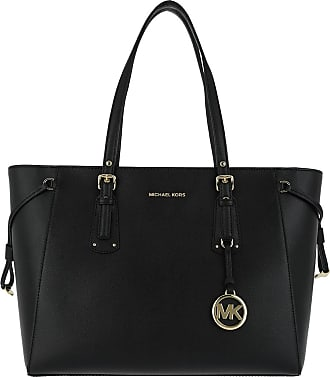 Michael Kors Tote - Voyager Medium Mf Tz Tote Black - black - Tote for ladies