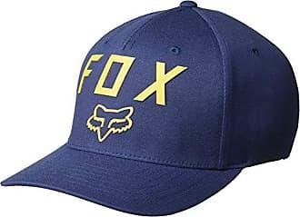 Fox Mens Number 2 Flexfit HAT, Navy, L/XL