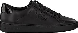 Michael Kors Zwarte Michael Kors Lage Sneakers Keaton Lace Up