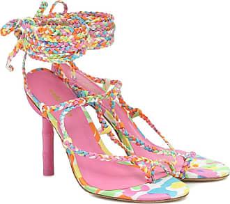 Cult Gaia Adina printed sandals