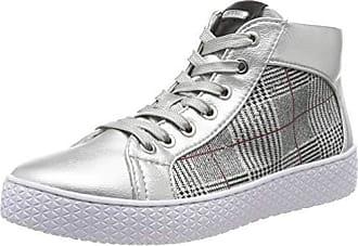 Details zu BUGATTI Damen Sneaker Schuhe Weiß Silber größe 39