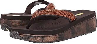 Volatile Zarina (Bronze) Womens Sandals