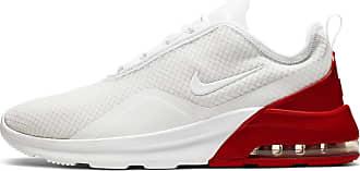 Nike Air Max Motion Sneaker Herren in white-white-university red-platinum tint, Größe 47 1/2