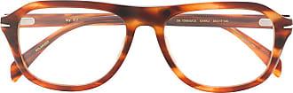David Beckham Óculos de sol quadrado 7006/G/CS - Marrom