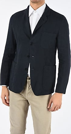 Aspesi flax SAMURAKI patch pocket 3-button blazer Größe M