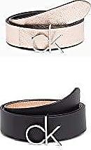 b9e07ab25a1d Calvin Klein 3cm CK Rev.Belt Giftpack, Ceinture Femme, Noir (Black