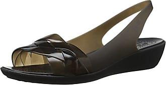 0b81f25a3b95ea Crocs Womens Isabella Slingback Flat Black