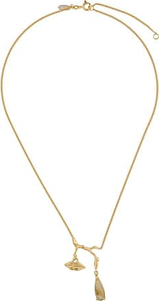 Wouters & Hendrix mouth necklace - GOLD