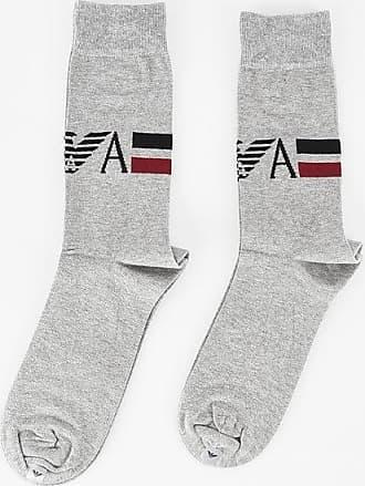 Armani EMPORIO Embroidered Socks Set size Unica