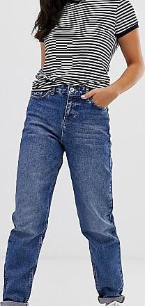 Urban Bliss Jeans dritti vita alta-Blu