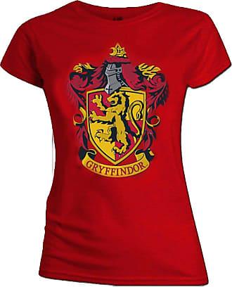 Harry Potter Official Skinny T Shirt Hogwarts Gryffindor House Red XXL 16