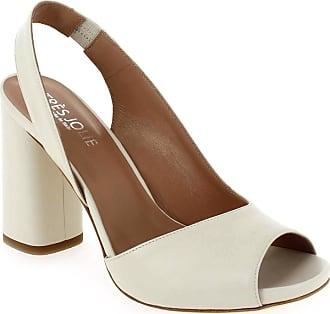 Très Jolie Sandales et nu-pieds Très jolie pour Femme 1987 blanc