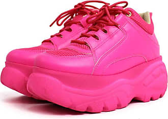 Damannu Shoes Tênis Buffalo Rosa Neon - Cor: Rosa - Tamanho: 38