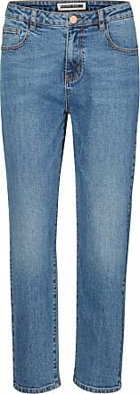 Noisy May Womens Nmliv Nw Straight Jeans Gu505 Noos, Blue (Medium Blue Denim), W30/L32 (Size: 30)
