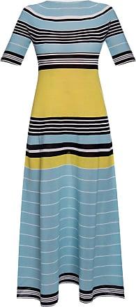 Lanvin Short-sleeved Dress Womens Blue