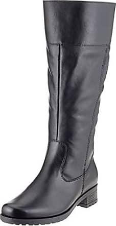 4404892a Ara 1249078 - Botas Altas de Cuero Mujer, Color Negro, Talla 38 EU