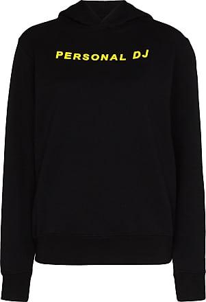 Kirin slogan print hoodie - Blue