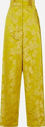 Dries Van Noten Podium floral jacquard trousers - DRIES VAN NOTEN - woman