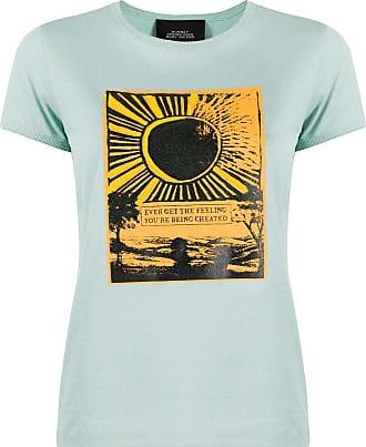 Marc Jacobs Camiseta com estampa pôr do sol - Azul