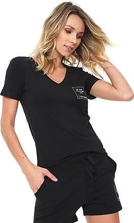 Calvin Klein Underwear Camiseta Calvin Klein Underwear Estampada Preta