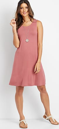 Maurices 24/7 Solid Scoop Neck Tank Dress