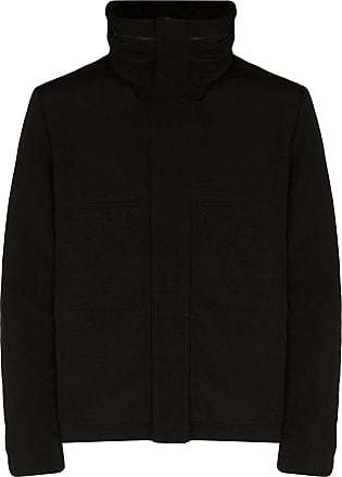 Yves Salomon high neck down jacket - Black