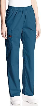 Dickies womens86106Signature Elastic Waist Scrubs Pant Medical Scrubs Pants - Blue - Medium