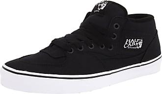 d7d878251d Vans Vans Unisex Half Cab (14 oz Canvas) Black Skate Shoe 6.5 Men US