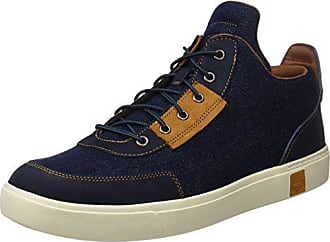 Timberland Amherst Hightopcanvaschkdark, Bottes Chukka Homme, Bleu (Dark  Denim Canvas), 45 1766e208a20