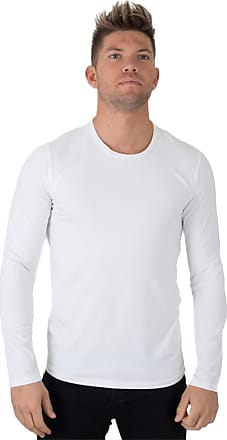 Perform Collection Muscle L/S T-shirt White