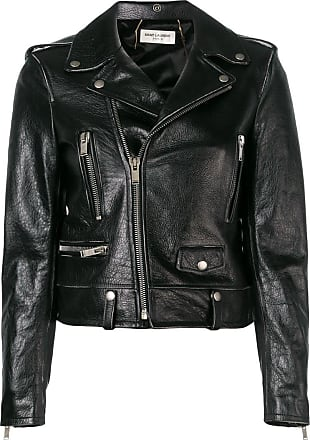 2b42034153f Saint Laurent Leather Jackets for Women − Sale: up to −75% | Stylight