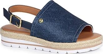 Vizzano Sandália Flatform Espadrille Vizzano Jeans