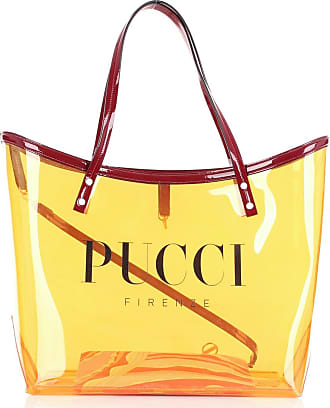 Emilio Pucci Shopping bags Bordeaux and orange