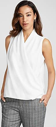 Contemporaine Crossover draped blouse