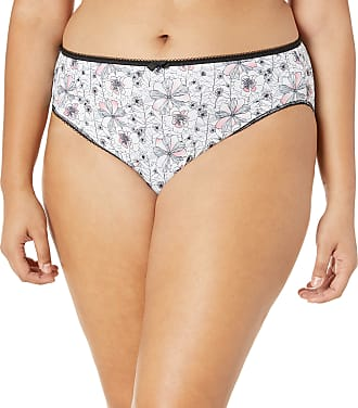 Elomi Womens Rosalind Brief, Monochrome, 4X-Large