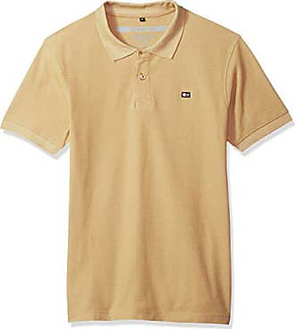 red X-Large Southpole Mens Classic Short Sleeve Solid Polo Shirt