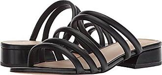Franco Sarto Womens Fitz Heeled Sandal, Black, 6.5 M US