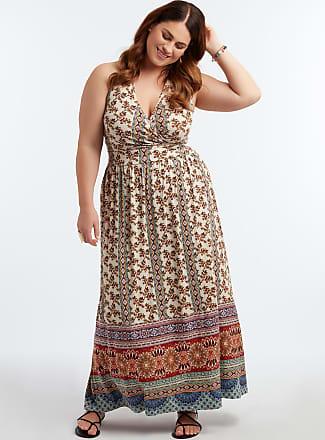 2b45f654f710ee MS Mode Dames Lange jurk met halterdetail