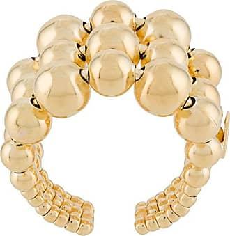 Gas Bijoux Anel com aplicações - Dourado