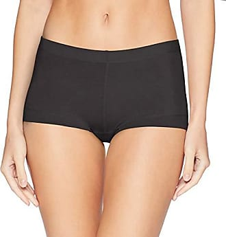 Maidenform Womens Dream Cotton Boy Short, Black, 6