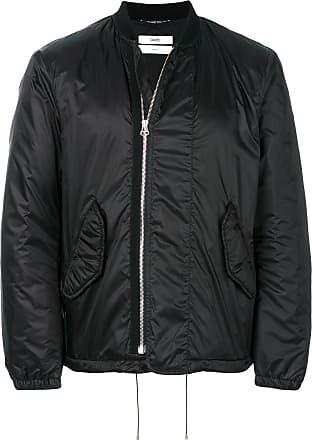 OAMC asymmetric front bomber jacket - Black
