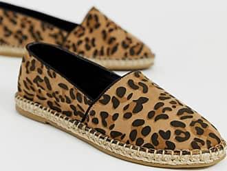 Truffle leopard espadrille-Brown