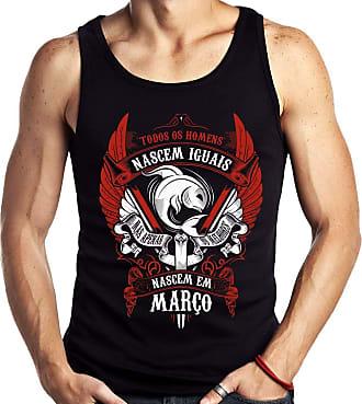 Dragon Store Camiseta Regata Homens de Março Peixes os Melhores Signo