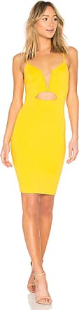 NBD Totale Dress in Yellow
